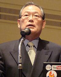 グーグル代表取締役社長の村上憲郎氏
