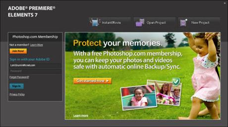Adobe Premier Elements 7