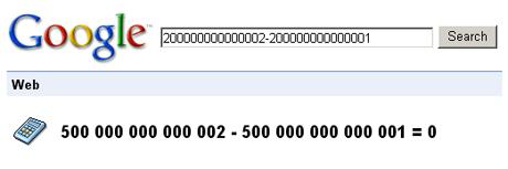 Googleの電卓