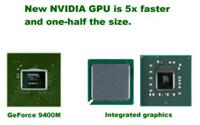 NVIDIAのGeForce 9400M