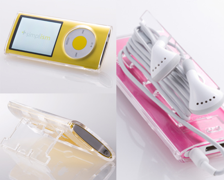 「Simplism Crystal Case for iPod nano」