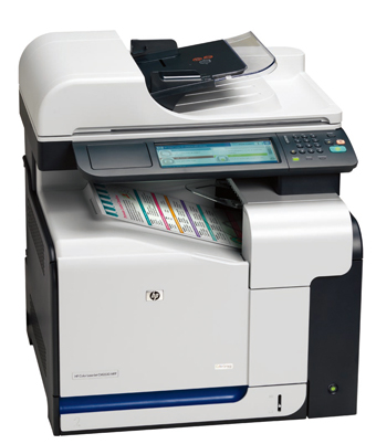 「HP Color LaserJet CM3530 MFPシリーズ」