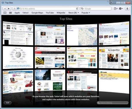 Safari 4イメージ
