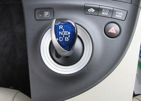 Powerボタン、Ecoボタン、EVボタン