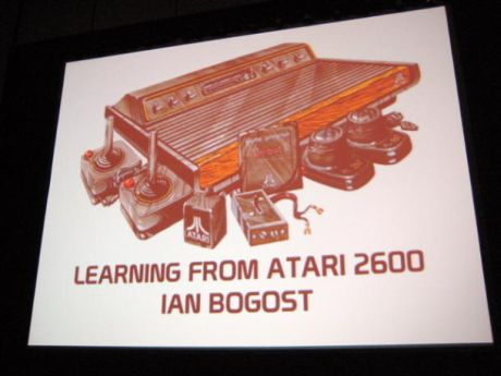 サンフランシスコで開催のGame Developers Conference(GDC)において米国時間3月27日に行われた、ジョージア工科大学教授のIan Bogost氏による講演「Learning from the Atari 2600」