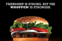 「WHOPPER SACRIFICE」キャンペーン