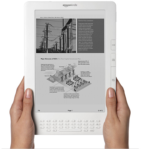 Kindle DXの画像