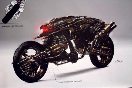 「ターミネーター4」では、アクションシークエンスを本物のように見せるために視覚効果やコンピュータグラフィックスが重要な役割を果たした。画像にあるのはMototerminatorと呼ばれ、映画のなかで重要な役割を持つ悪のロボット。ILMの視覚効果チームは、このロボットのために爆発した車を自在に操れるようにする必要があり、それは多くの労力を必要とした。