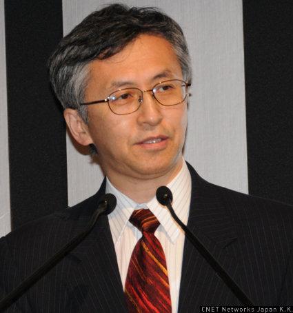 クアルコムジャパン 代表執行役会長兼社長の山田純氏