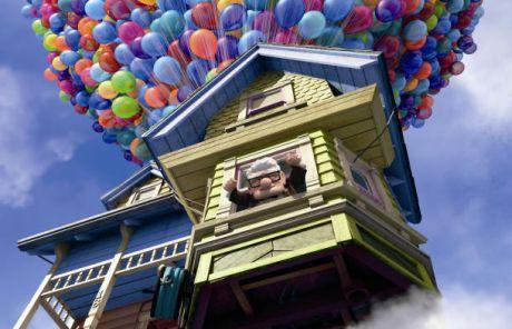 Pixarが映画「カールじいさんの空飛ぶ家」の制作に着手したときに直面した課題は、1万個を超える風船のアニメーション化だった。