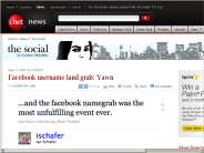 Facebook username land grab: Yawn | The Social - CNET News