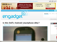 Is this Dell's Android smartphone ditty?