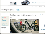 Best Buy takes electric vehicles for a spin - Los Angeles Times