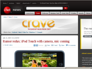 Rumor redux: iPod Touch with camera, mic coming | Crave - CNET