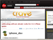 Jailbreaking software already works for 3.0.1 iPhone update | Crave - CNET