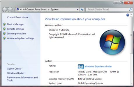 Windows 7では、筆者のユニボディ15インチMacBook Proのスコアは5.3だ。ノートブックにしては非常に高い数字だ。