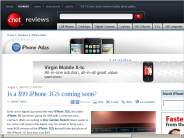 Is a $99 iPhone 3GS coming soon? | iPhone Atlas - CNET Reviews