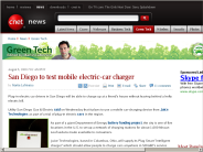 San Diego to test mobile electric-car charger | Green Tech - CNET News