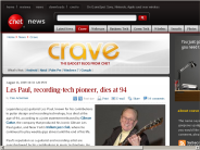 Les Paul, recording-tech pioneer, dies at 94 | Crave - CNET