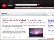Apple releases fix for MacBook Pro hard drive issues | Apple - CNET News
