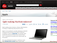 Apple readying MacBook makeover? | Apple - CNET News