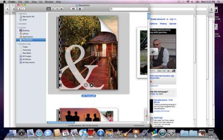 PDF書類の上にマウスオーバーした際に表示される矢印を使い、複数ページのPDF書類のページをめくることができる。