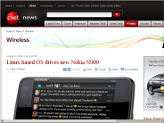 Linux-based OS drives new Nokia N900 | Wireless - CNET News
