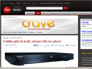 Toshiba grits its teeth, releases Blu-ray player | Crave - CNET