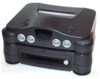 64DDは日本以外では発売されなかった。NINTENDO64の底面に取り付け、ディスクドライブを追加する。
