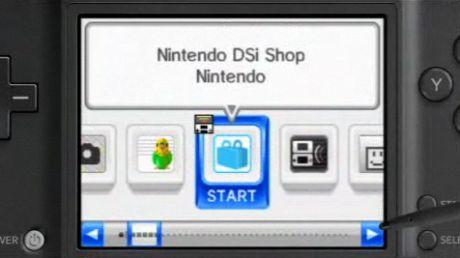 ニンテンドーDSiショップは、任天堂の携帯用ゲーム機からアクセスできる。