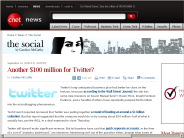 Another $100 million for Twitter? | The Social - CNET News
