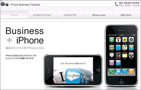 iPhone Business Paradise