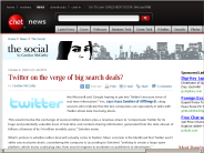 Twitter on the verge of big search deals? | The Social - CNET News