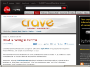 Droid is coming to Verizon | Crave - CNET