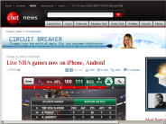 Live NBA games now on iPhone, Android | Circuit Breaker - CNET News