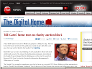 Bill Gates' home tour on charity auction block | The Digital Home - CNET News