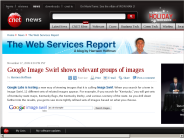 Google Image Swirl shows relevant groups of images | The Web Services Report - CNET News