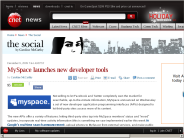 MySpace launches new developer tools | The Social - CNET News