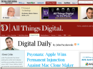 Apple Wins Permanent Injunction Against Mac Clone Maker Psystar | John Paczkowski | Digital Daily | AllThingsD