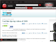 YouTube tips top videos of 2009 | Webware - CNET