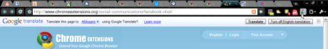 「Google Translate」拡張機能では、きれいなポップアップ型ツールバーが追加される。