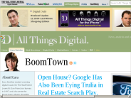 Google to Acquire Real Estate Site Trulia? | Kara Swisher | BoomTown | AllThingsD