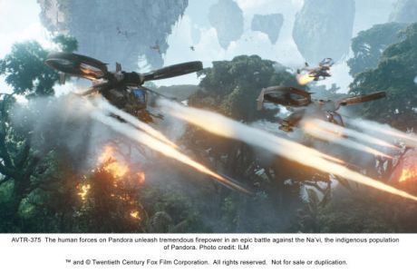 「アバター」制作行程が終盤にさしかかったところで、ILMは、一部映像の仕上げを支援するために援軍として呼ばれた。