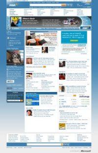 Microsoftは、「MSN」トップページの上部にバンクーバー五輪に焦点を当てた専用のモジュールを表示して、五輪熱を利用しようとしている。