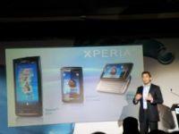 Sony Ericssonは新しいAndroid携帯を披露した。