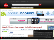 Google Shopper: Just another Android shopping app? | Android Atlas - CNET Blogs