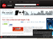 New class action lawsuit targets Yelp | The Social - CNET News
