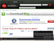 No more Skype for Windows and Java phones? | The Download Blog - Download.com